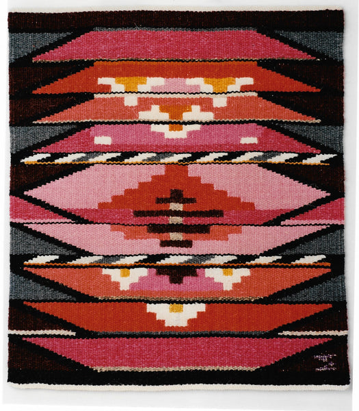 Danish tapestry from the 1980s. Handwoven in wool.