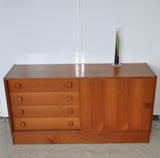 Danish teak sideboard from Domino Møbler