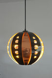 Danish copper pendant by Werner Schou for Coronell
