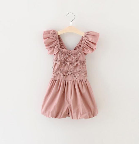 "Blush ""BLAISE"" Romper Outfit"