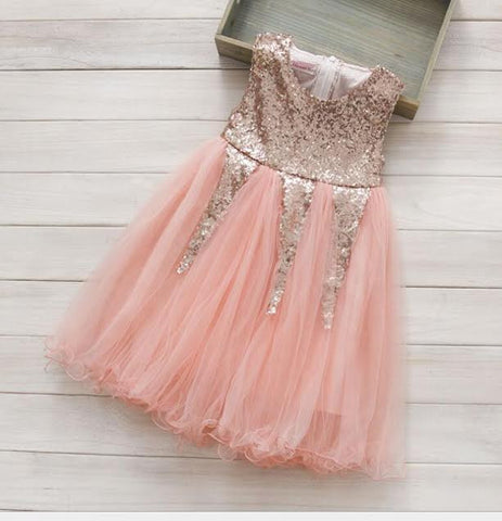 """AVALEE""  Sequin Tulle Dress"