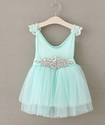 """ELLA"" Dress with Rhinestone Belt"