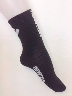 BLACK NEWTON RUNNING SOCKS