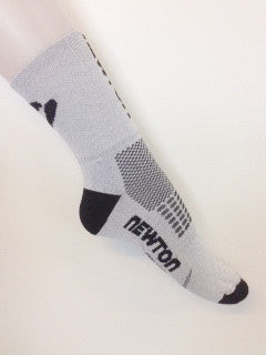 WHITE NEWTON RUNNING SOCKS