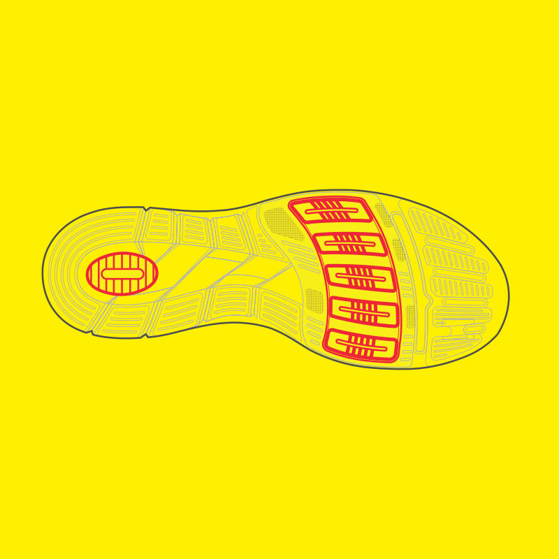 Full-Foot Cushioning