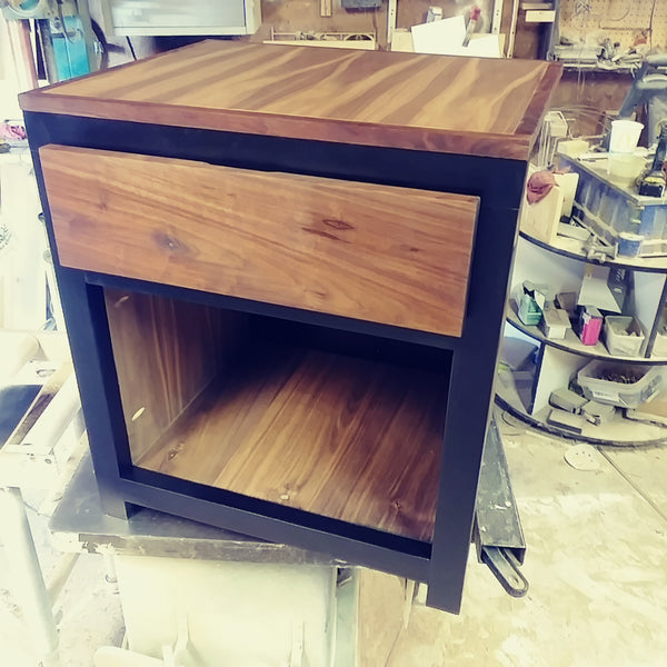 Single drawer Nightstand, bed room