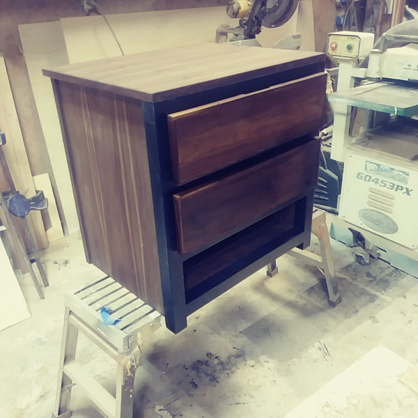 Dual drawer Nightstand, bed room