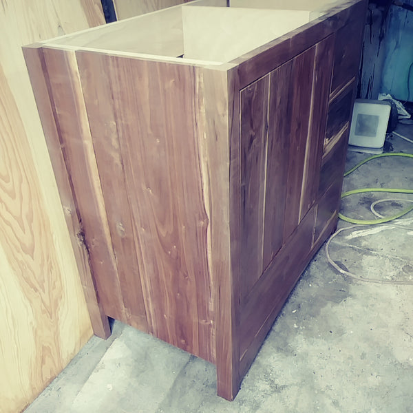 Sappy Walnut Vanity