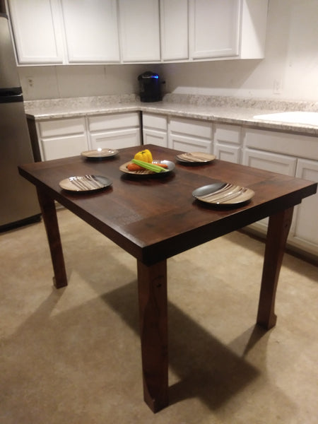 Americana Hardwood Harvest Farm Table