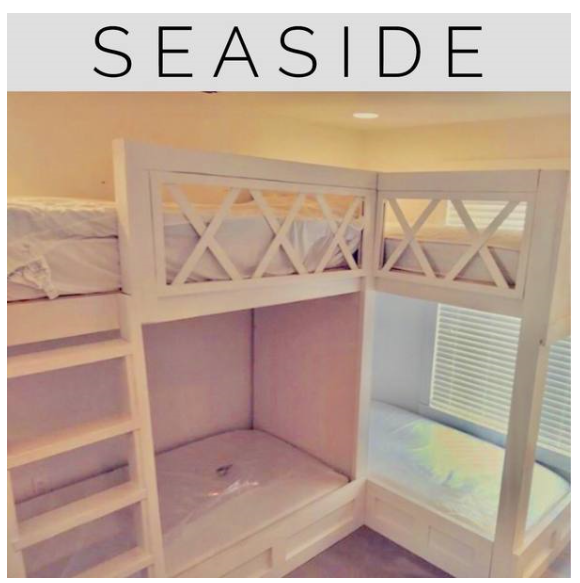 Kristies special order Seaside bunk beds