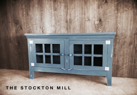 Distressed Americana Tv Console