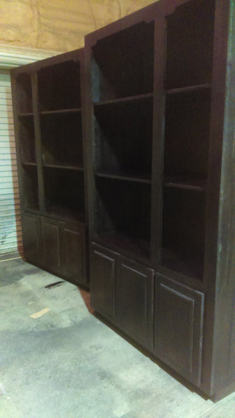 Custom Bookcases, Wood Book case