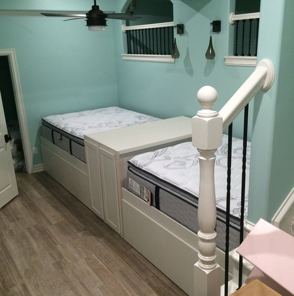 Quad Trundle Bed