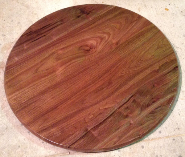 Walnut Lazy Susan 30""