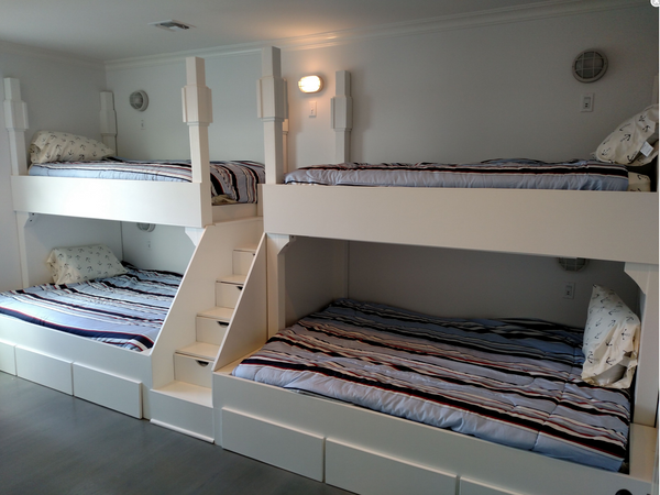 Adult Bunk Beds Quad Bunkbeds For Adults Thestocktonmill