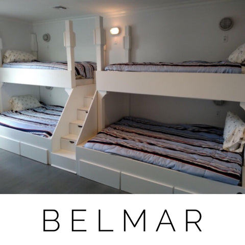 Special Order Belmar Adult bunk beds, Quad Bunkbeds for Adults