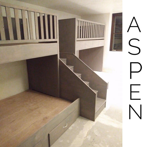 local special order Aspen quads, Quad Bunkbeds for Adults