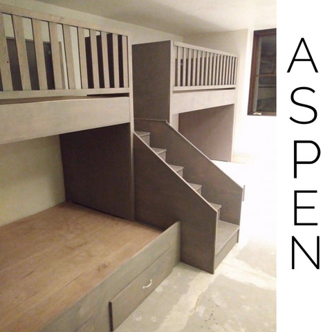 Laura's Special Order Aspen quads, Quad Bunkbeds for Adults