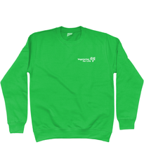 Unisex Sweatshirt - Vegetarian for Life logo, in various colours
