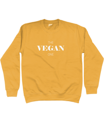 Unisex Sweatshirt - 'The Vegan One', in various colours
