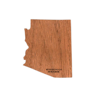 Arizona Wooden Sticker