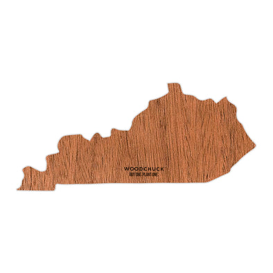 Kentucky Wooden Sticker