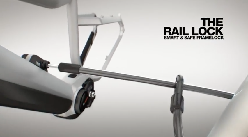 Modular Rail System Cable Lock