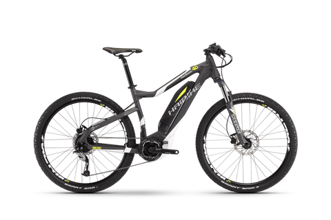Haibike 2017 SDURO HardSeven 4.0 Anthracite / White / Yellow