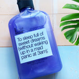 To sleep full of sweet dreams bath/shower gel
