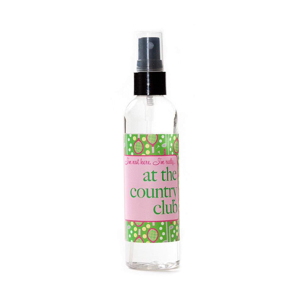 I'm not here, I'm really... at the country club - Not Soap Radio Dry oil perfume