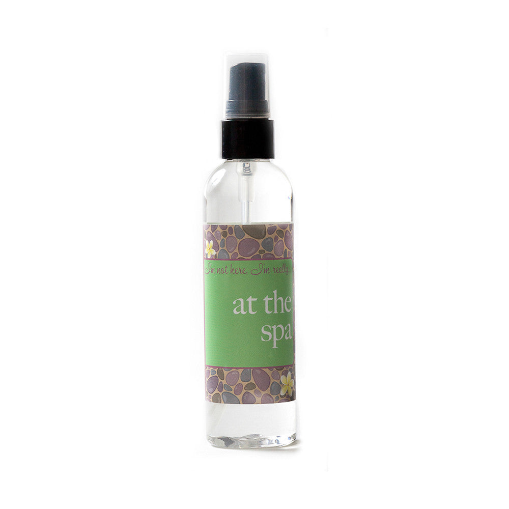 I'm not here, I'm really...at the spa - Not Soap Radio Dry oil perfume