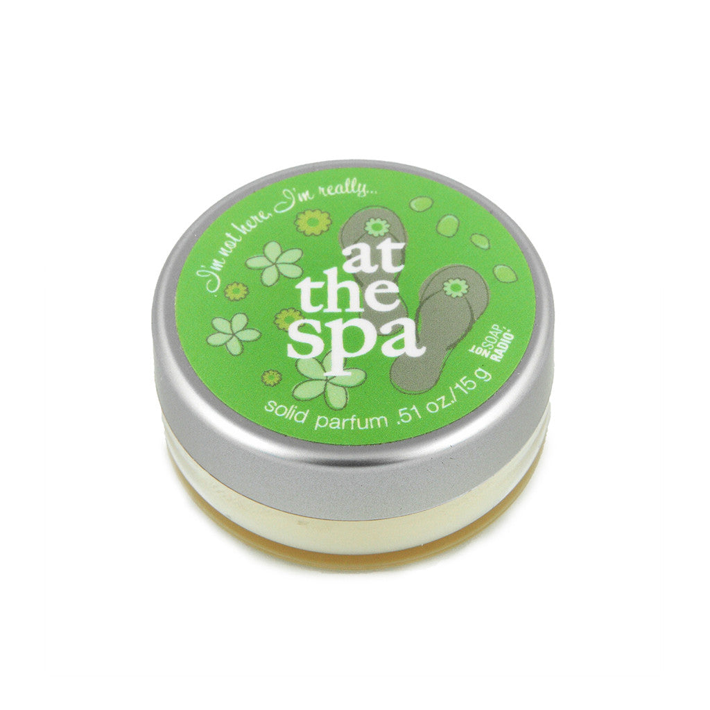 I'm not here, I'm really...at the spa - Not Soap Radio Solid fragrance
