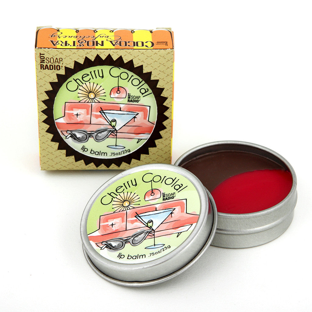 Cocoa Nostra Confectionery Cherry Cordial - Not Soap Radio Lip balm