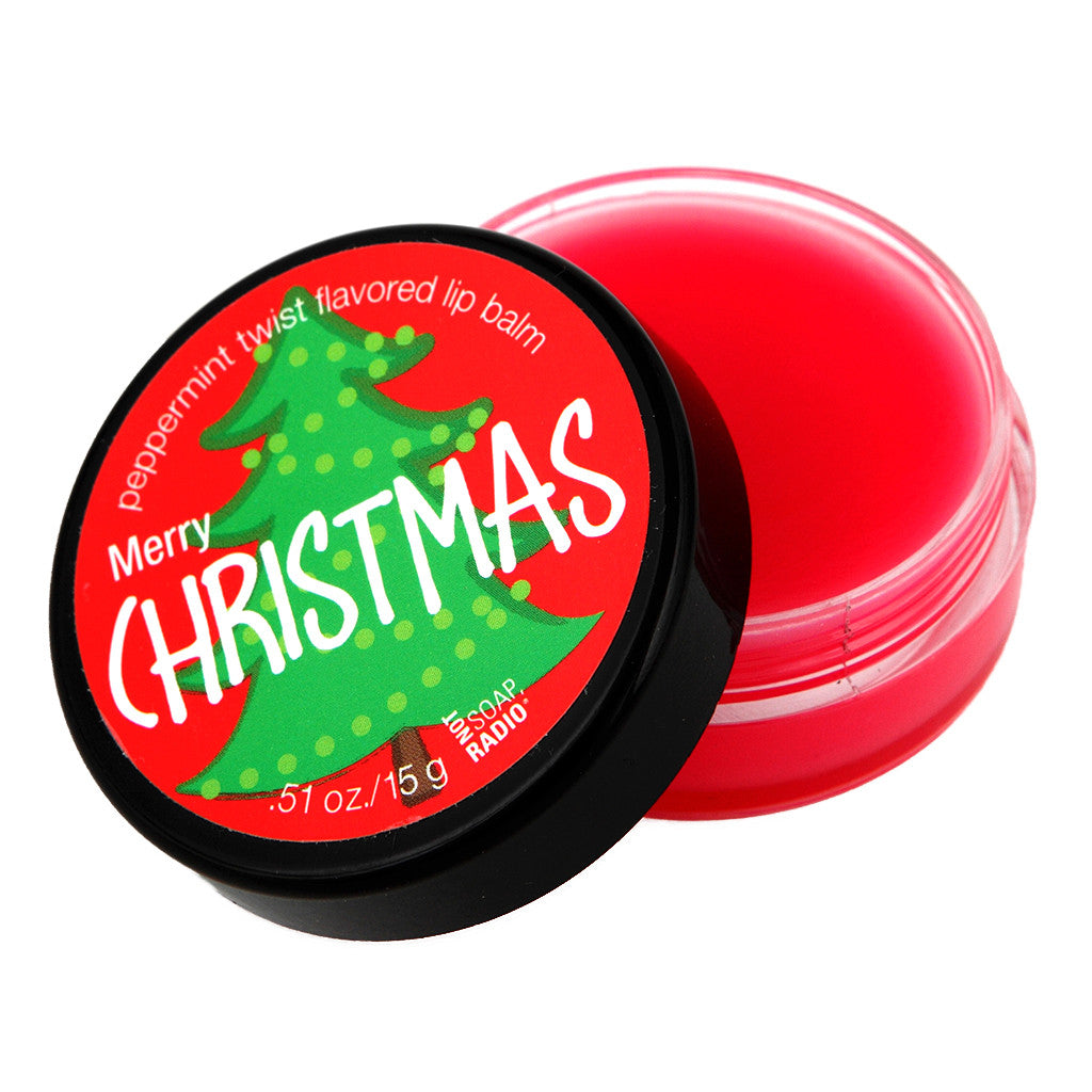 Merry Christmas lip balm