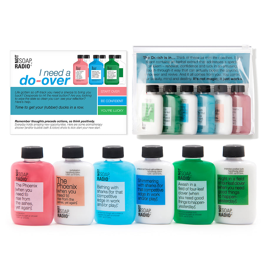 I need a do-over! Rewind and reset gift set - Not Soap Radio Gift set