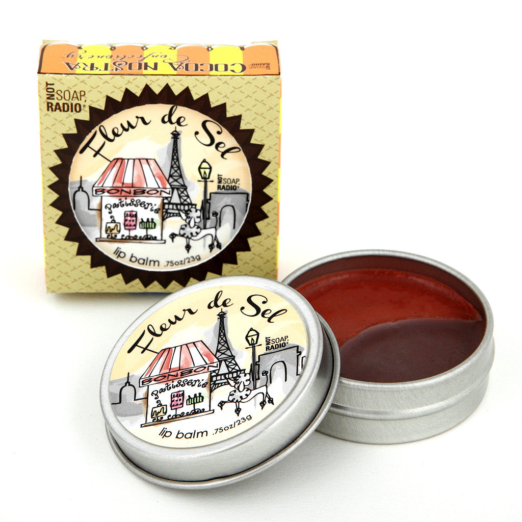 Cocoa Nostra Confectionery Fleur de sel - Not Soap Radio Lip balm