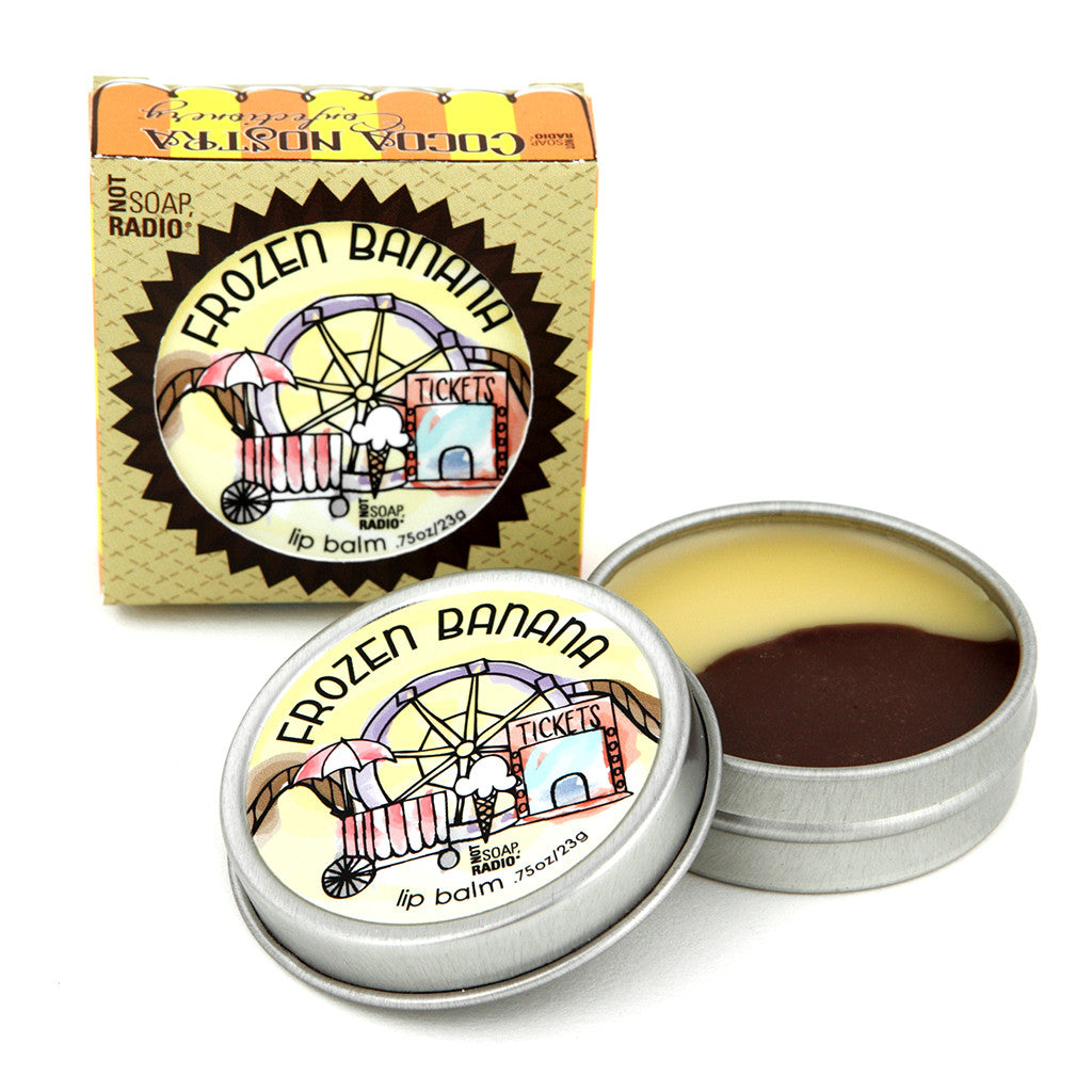 Cocoa Nostra Confectionery Frozen Banana - Not Soap Radio Lip balm