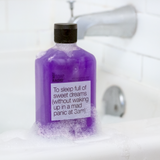 Natural lavender essential oils body wash - bath shower gel - Aromatherapy gifts