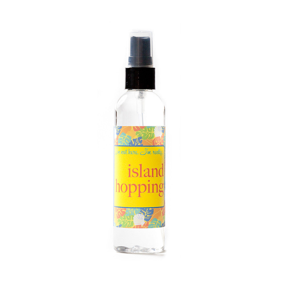 I'm not here, I'm really...island hopping - Not Soap Radio Dry oil perfume