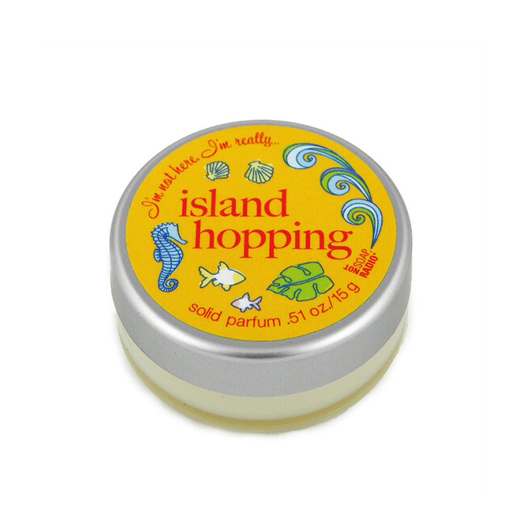 I'm not here, I'm really...island hopping - Not Soap Radio Solid fragrance