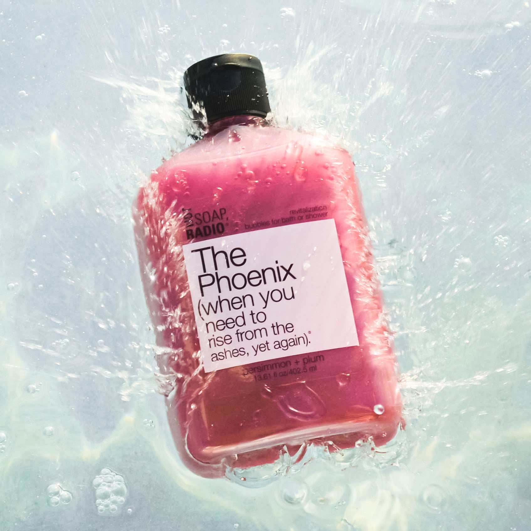 The Phoenix bath/shower gel