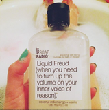 Liquid Freud bath/shower gel