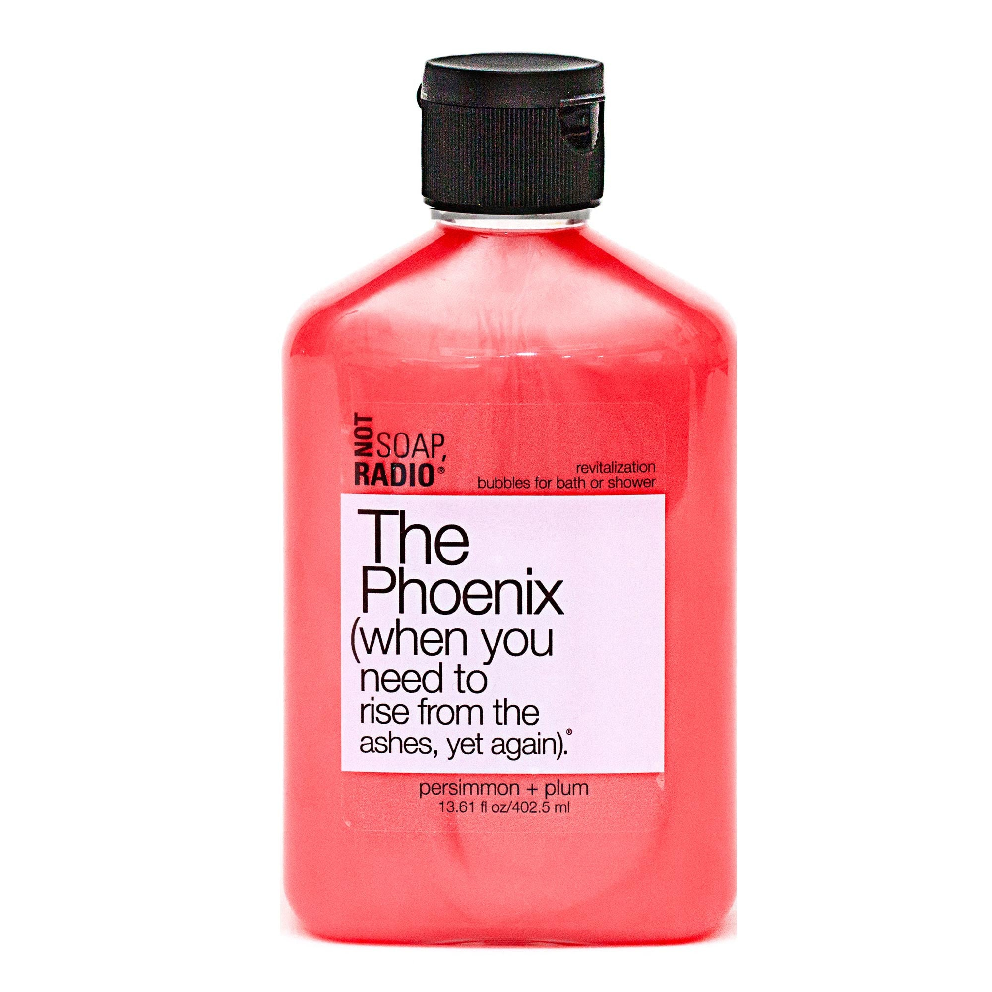 The Phoenix (when you need to rise from the ashes, yet again). - Not Soap Radio Bubbles for bath/shower