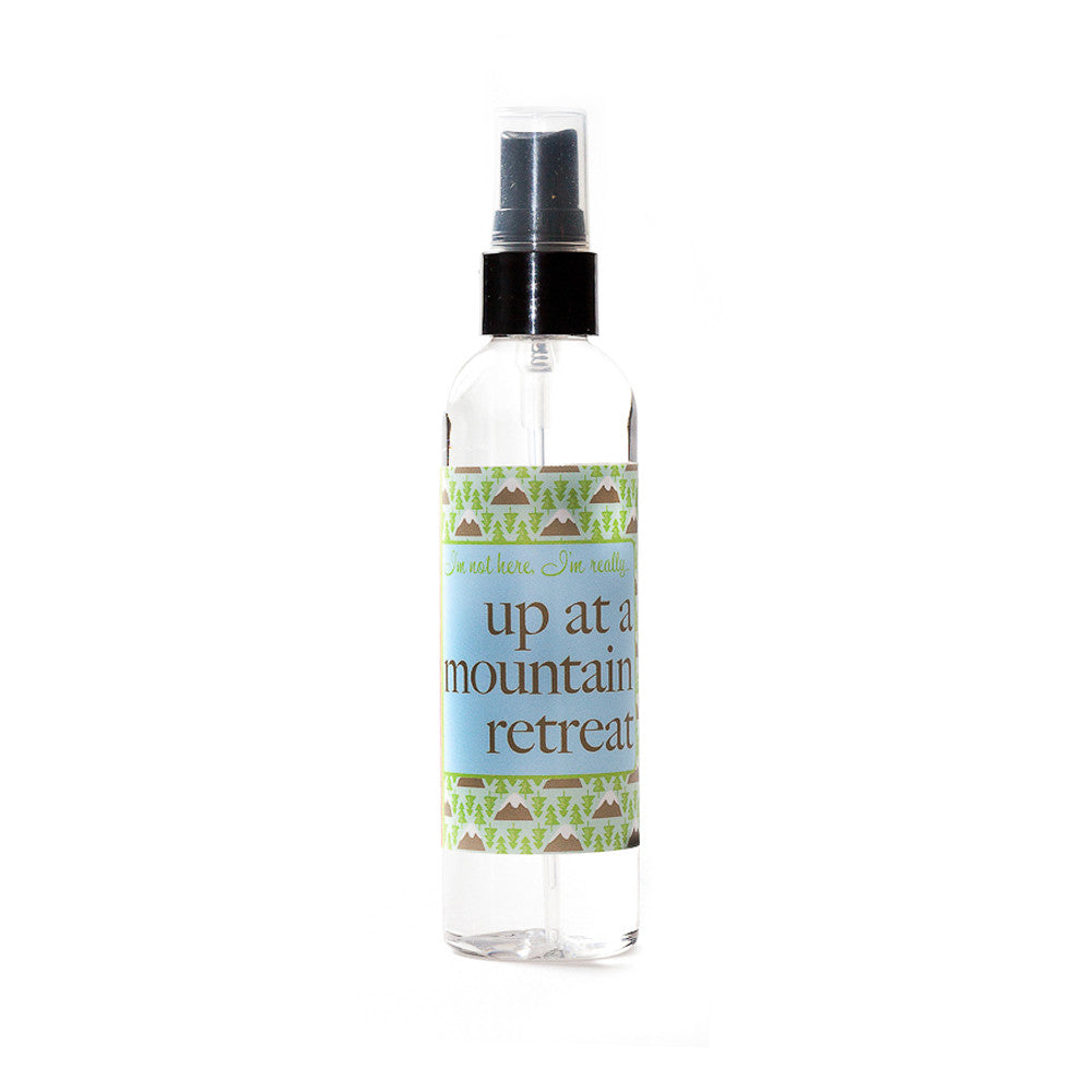 I'm not here, I'm really...up at a mountain retreat - Not Soap Radio Dry oil perfume