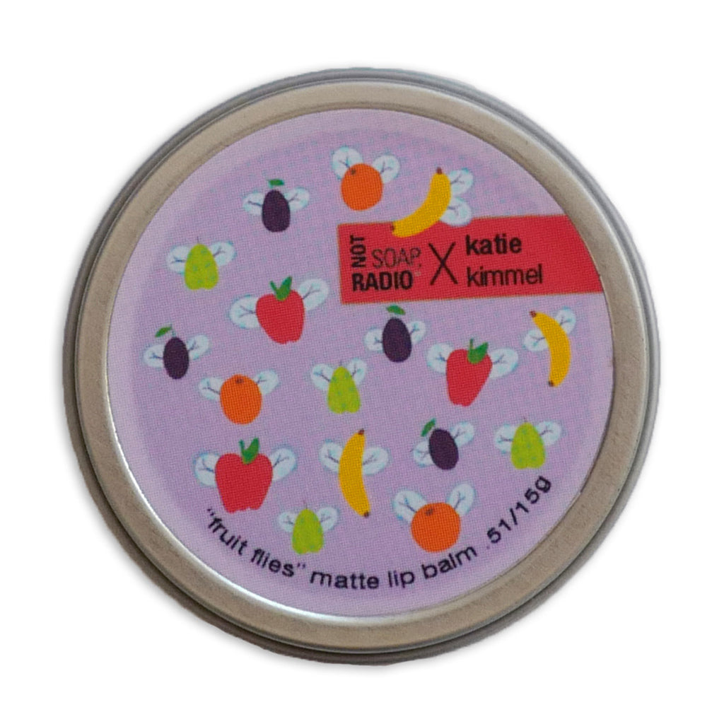 Fruit flies - Not Soap Radio Matte lip balm
