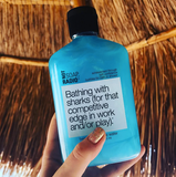 Bathing with sharks bath/shower gel