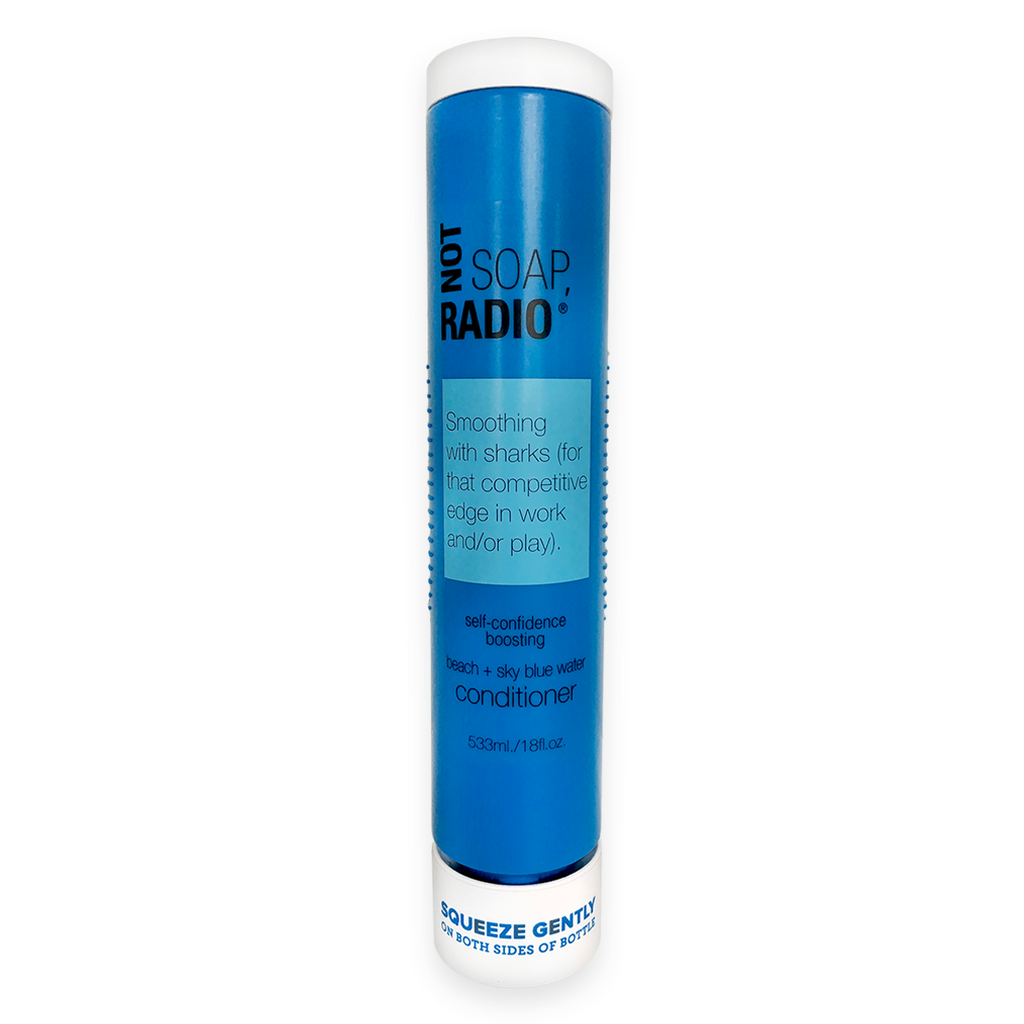 Smoothing with sharks (for that competitive edge in work and/or play) enviro-shield conditioner - Not Soap Radio