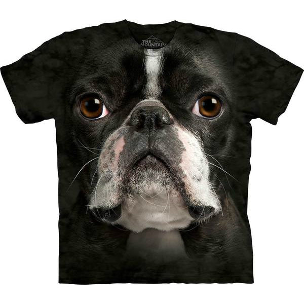 Boston Terrier Face Tee