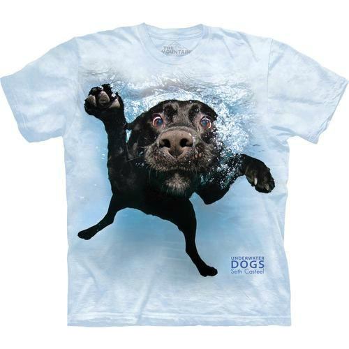 Underwater Dogs Lab Tee