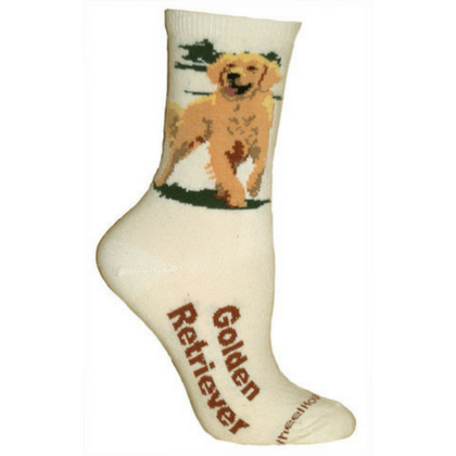 Natural Golden Retriever Lover Socks